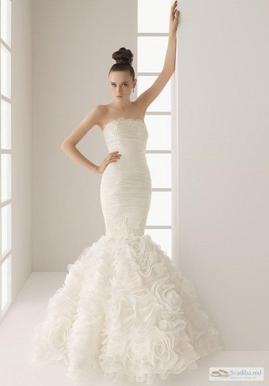 Фото свадебных платьев русалок