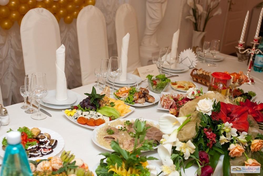 Какие блюда заказывают на свадьбу в ресторане