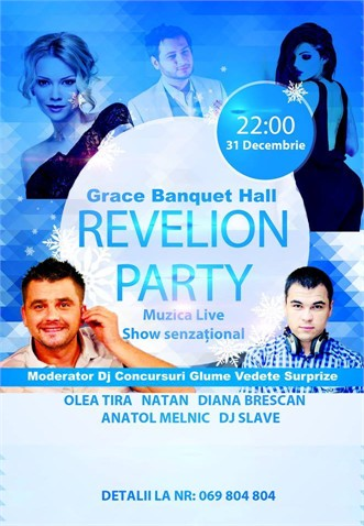 "Sala de banchet ""Grace"" — Revelion Party!"