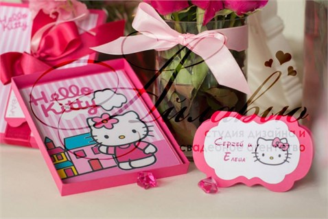 "Agenția ""I Love You"" — petrecere în stil Hello Kitty"