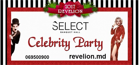 "Celebrity Party la restaurantul ""Select Banquet Hall"""