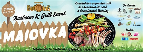 "Barbecue & Grill Event ""Maiovka 2017"" от ресторана ""Butoiaș"""