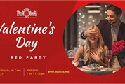 14 февраля: Valentine's Day - Red Party в ресторане Butoiaș