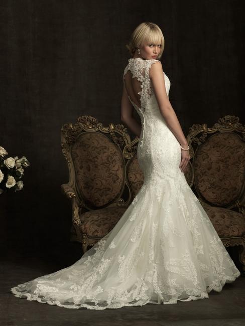 Силуэт свадебного платья «русалка»