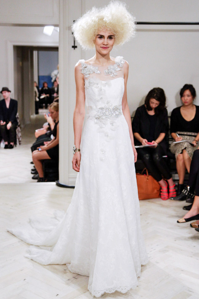 Badgley Mischka, цветы